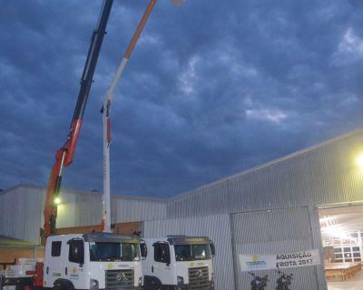 Cersul adquire novo caminhão para sistema de Li...