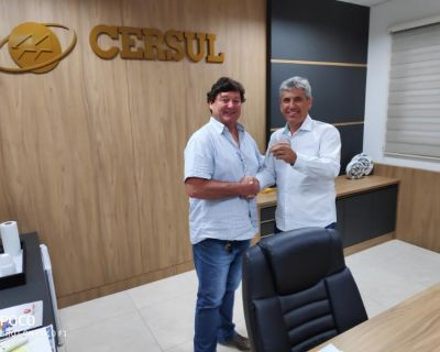 Vice-presidente Sandro Cirimbelli assume a CERSU...