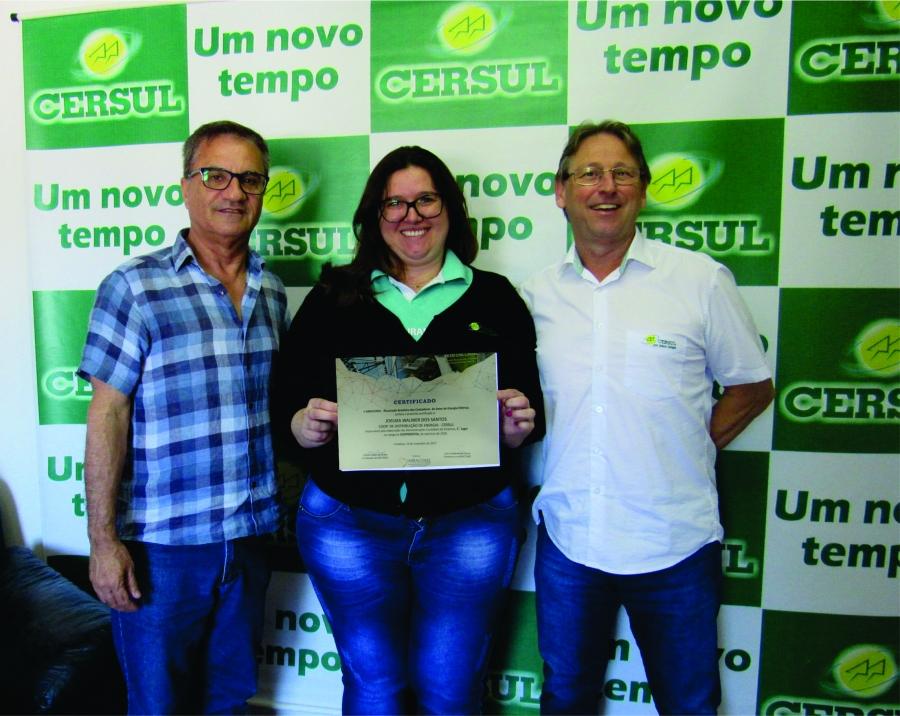 Setor contábil da Cersul obtêm 1º lugar entre as cooperativas