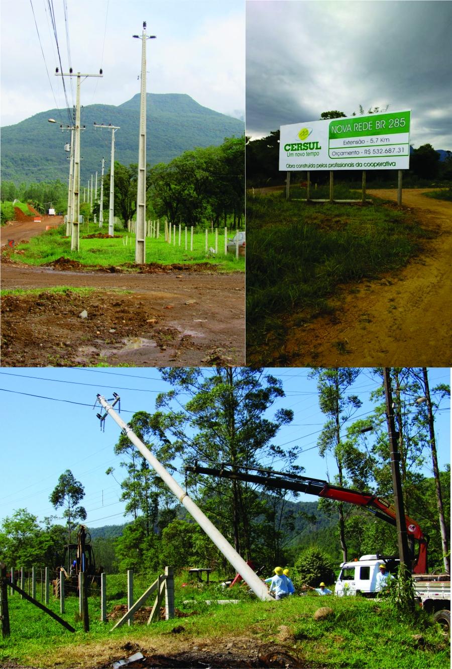 Cersul finaliza obras da nova rede na serra da Rocinha