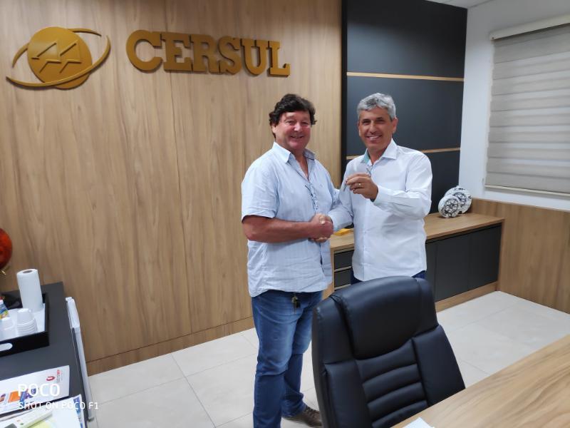 Vice-presidente Sandro Cirimbelli assume a CERSUL
