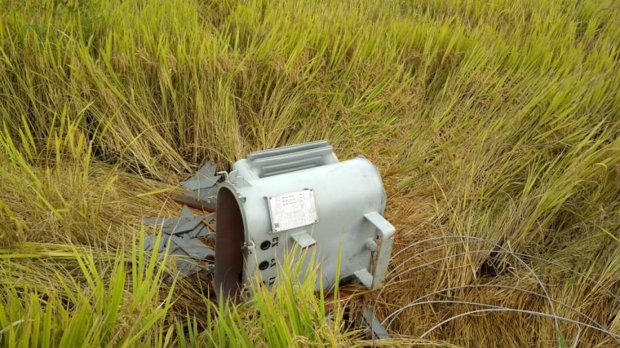 Quatro transformadores são danificados para furto